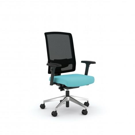 ViaSit F1 Bureaustoel met Netweave rugleuning