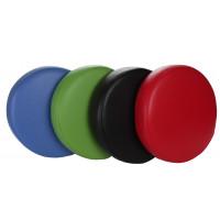 Kunstlederen zitting in 4 kleuren
