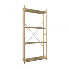Eurorek houten basisstelling 180x100x30 cm (hxbxd)