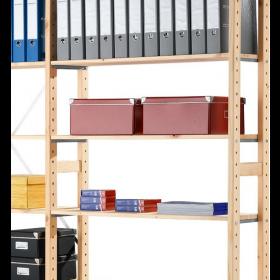 Eurorek houten aanbouwstelling 240x100x30 cm (hxbxd)