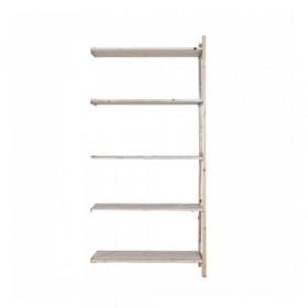 Eurorek houten aanbouwstelling 180x100x30 cm (hxbxd)