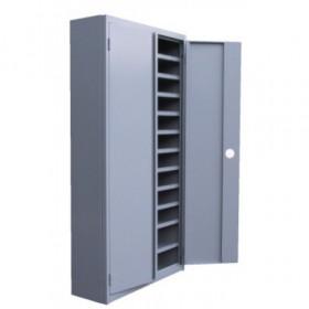Vakkenkast MTL met deuren 200x100x25